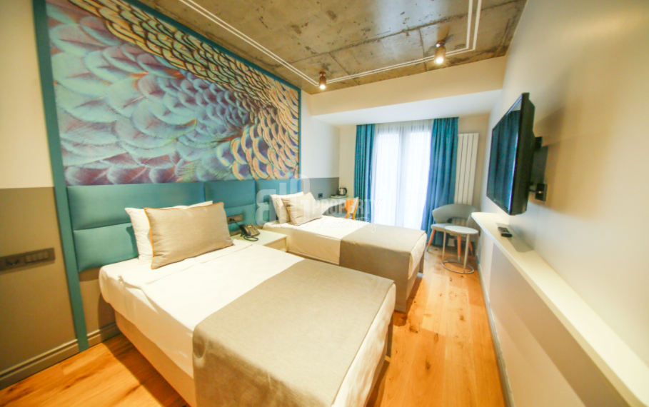 Boutique hotel with a great view for sale in Taksim the center of Istanbul